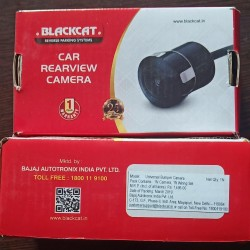 Blackcat Car Rear View Reverse Parking Camera with HD Output|| Waterproof || 120 Degree Wide Angle ||