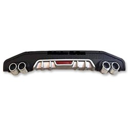 Imported Pure ABS Rear Diffuser for Hyundai Elite i20