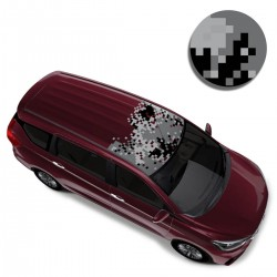 Camo Car Styling Car Roof Wrap